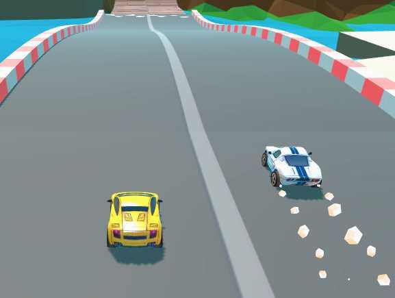 2 Kişilik Oyuncak Araba Yarışı