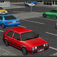 3D Araba Park Et