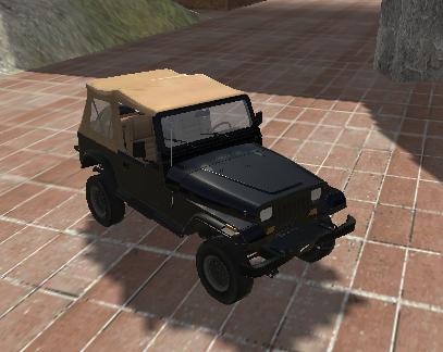 3D Arazi Arabaları 2