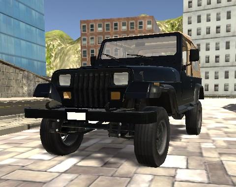 3D Arazi Arabası
