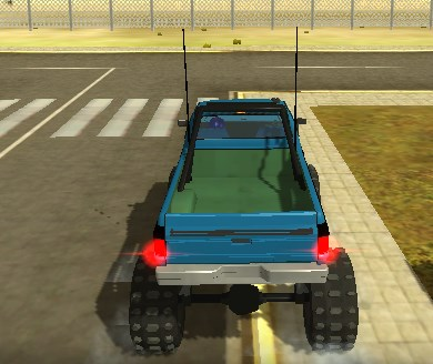 3D Güçlü Arabalar