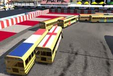3D Otobüs Yarışları
