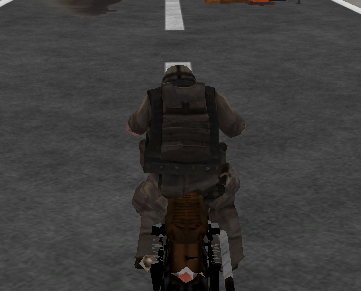 3D Sokak Motorcusu