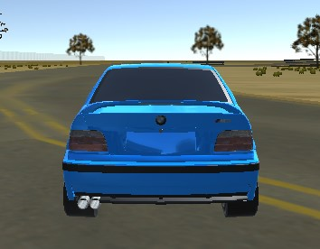 3D Süper Araba Yarışı