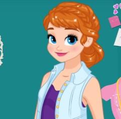 Anna Elsa ve Rapunzel