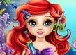 Bebek Ariel Gerçek Saç Kesimi
