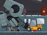 Canavar Robot : Şehre Saldır