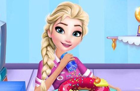 Elsa Donut Dükkanı