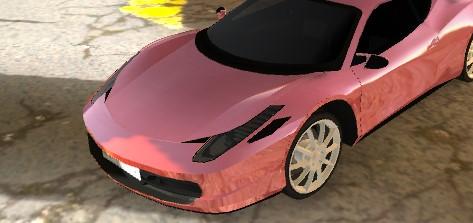 Ferrari 458 Sürme