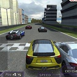 Gerçekçi Turbo Araba Yarışı