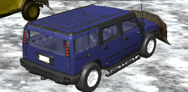 Kar Sürme Cipi Simülatörü
