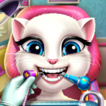 Kedi Angela Gerçek Dişçi