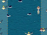 Köpekbalığı ve Yüzücüler