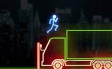Koş Neon Adam Koş