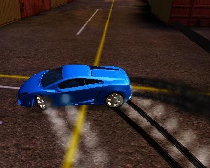 Lamborghini Drift Yapma