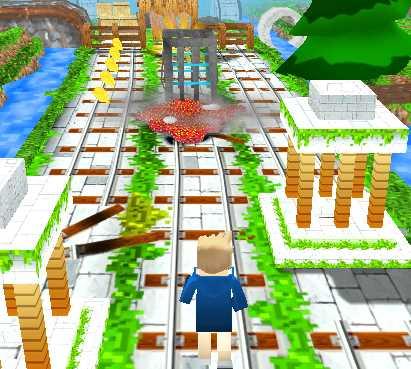 Minecraft Koşma