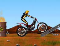 Motosiklet Engel Aşma