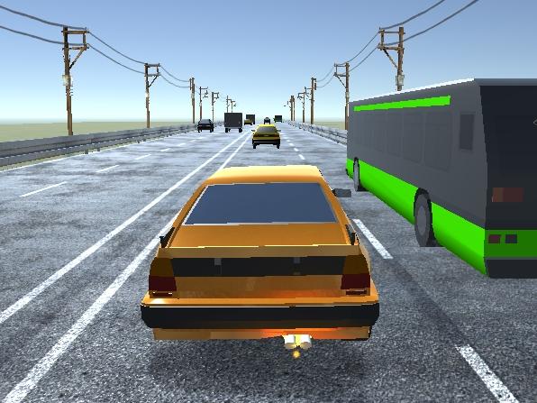 Otobanda Araba Sürme