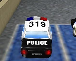 Polis Arabası Parketme