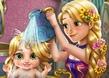 Rapunzel ile Bebek Yıka
