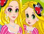 Rapunzel ve Kızını Giydir