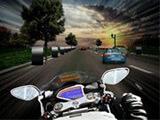 Şehirde Motosiklet Yarışı