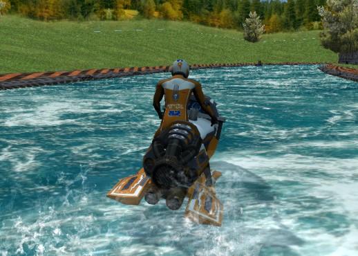 Su Üstünde Yarış