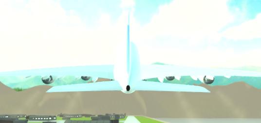 Uçak Uçurma Simülatör