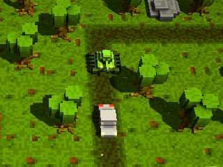 Voxel Tank 3D