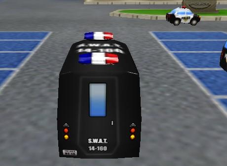 Yeni Polis Arabası Park Etme