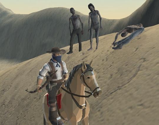 Zombi Avıcısı Kovboy